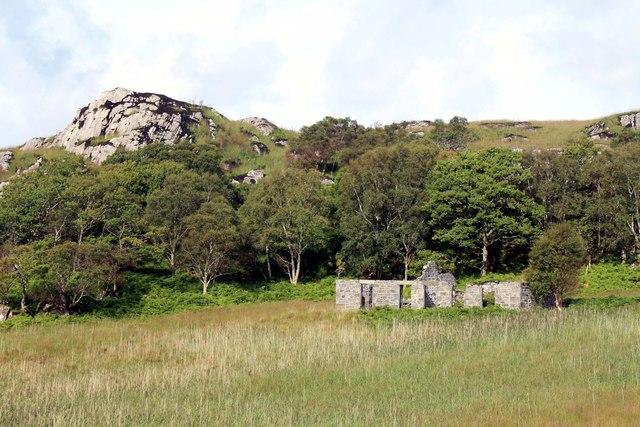 Ruin at Glasnacardoch