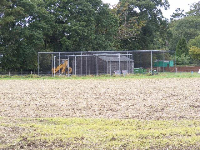 Training Nets at Easton Cricket Club