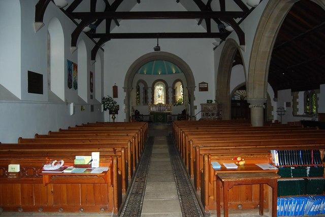 Interior of St Barnabas (1)