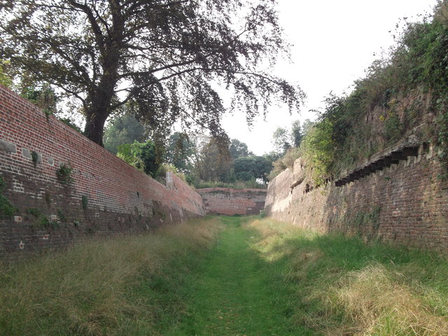 Field of Fire Ditch, Lower Lines (2)
