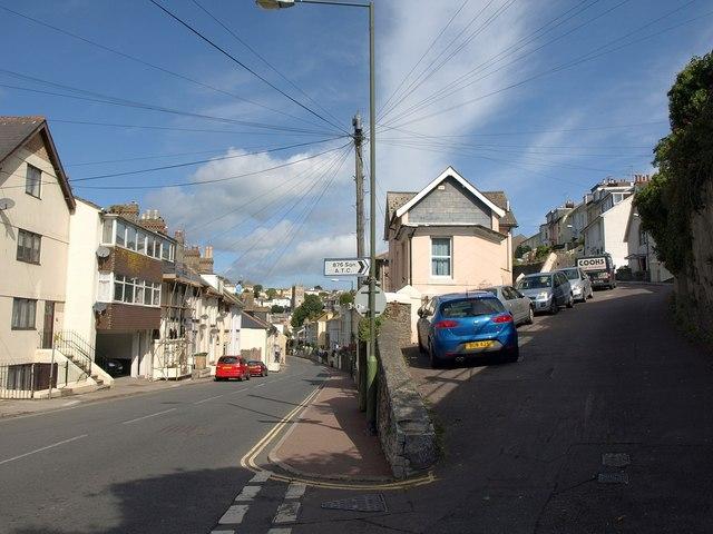 Bolton Street and Mount Pleasant Road, Brixham