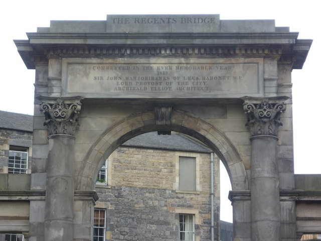 Regent Bridge north screen inscription