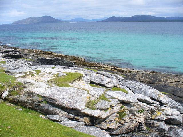 Coastline Below Beinn Ghainche