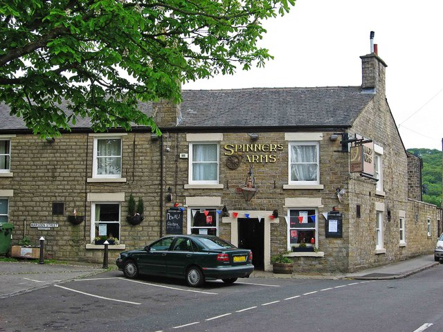 Spinners Arms (4), Hadfield Road, Hadfield