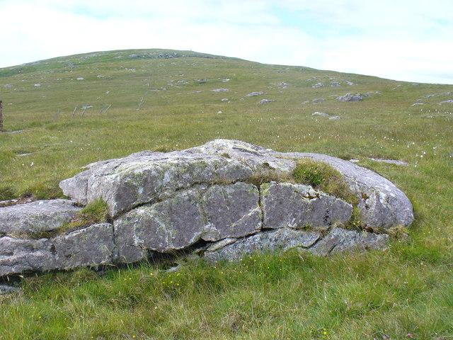 Rock Outcrop on Beinn Shleibhe / Ben Leva