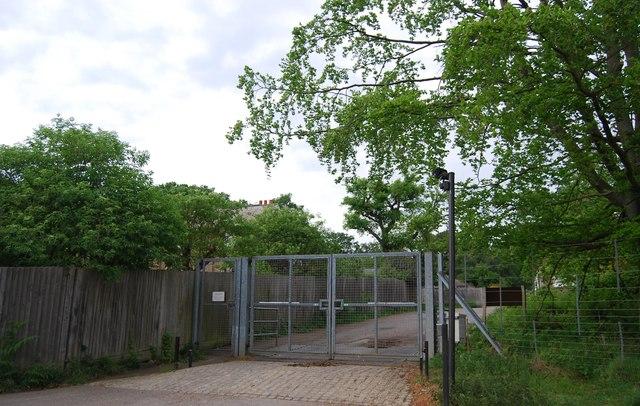 Gates in Richmond Park