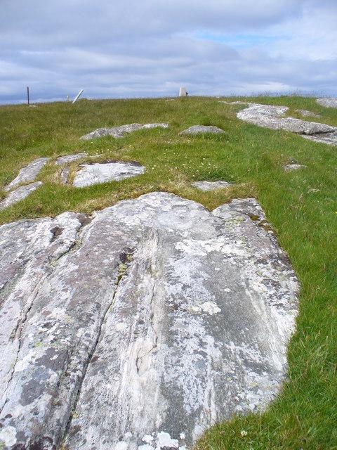 Glacier-worn Rock, Berneray