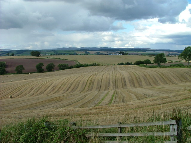 Rolling fields at Drum of Cowgask