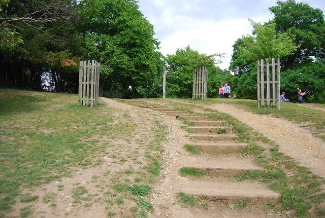 Steps in Richmond Park