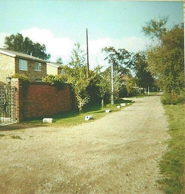 St Nicholas Road, Littlestone in 1982