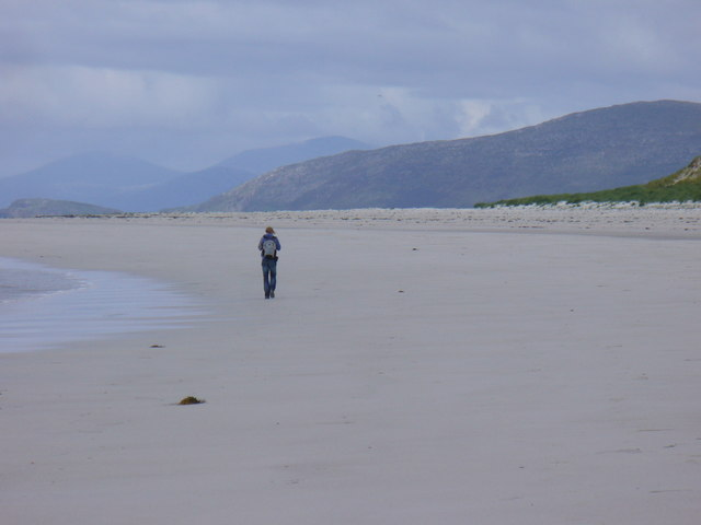 Crowded Beach on Berneray