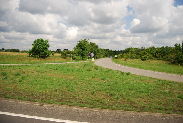 A11, turn off to Croxton