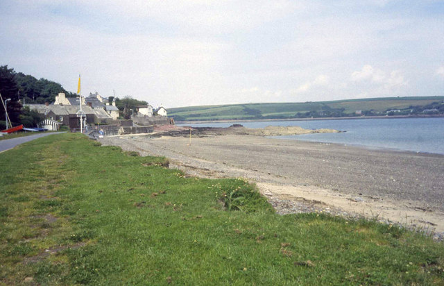 The beach at Dale
