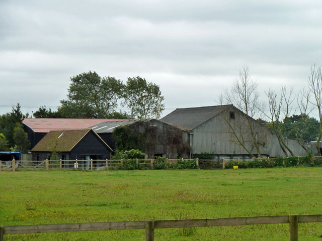 Barns at Attridge's Farm