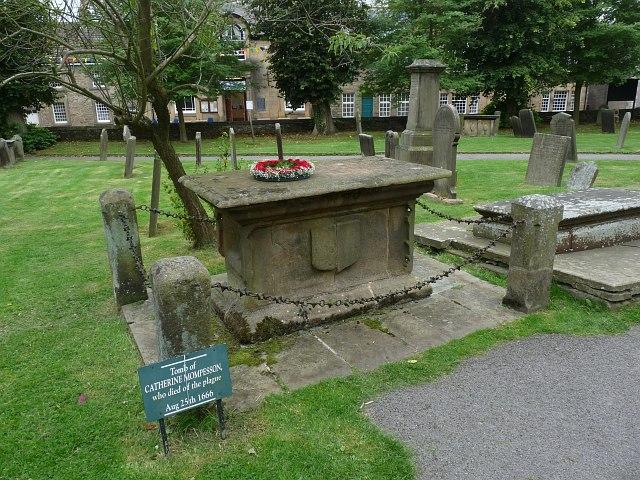 Catherine Mompesson's Tomb, Eyam