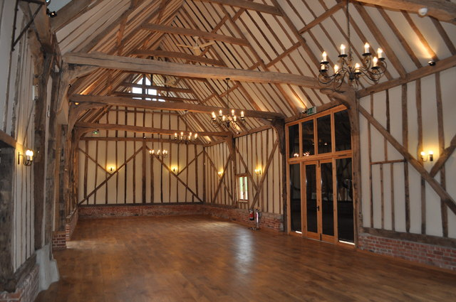 Bruisyard Hall - Barn