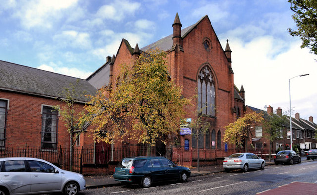 Former Macrory Memorial Presbyterian church, Belfast