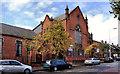 J3375 : Former Macrory Memorial Presbyterian church, Belfast by Albert Bridge