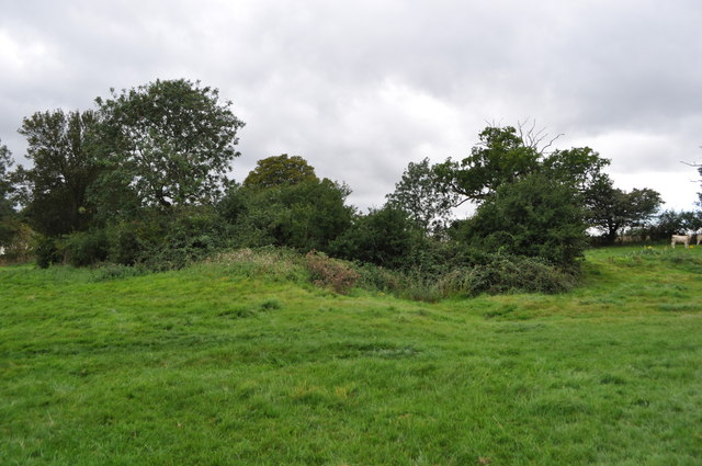 Earthworks at Bruisyard