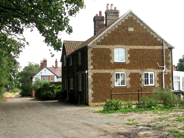 Cottages in Tower Lane, Middleton