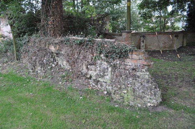 Bruisyard Hall - Chapel Remains