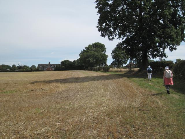 Footpath to Meriden Road north of Berkswell