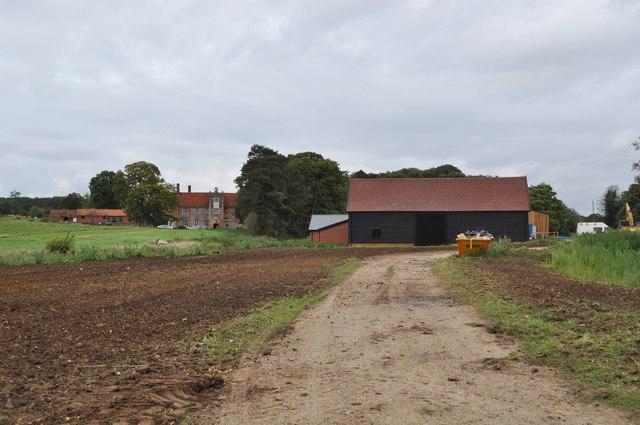 Bruisyard Hall and Barn