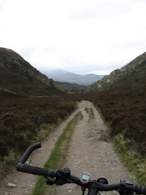 Downhill to Glen More