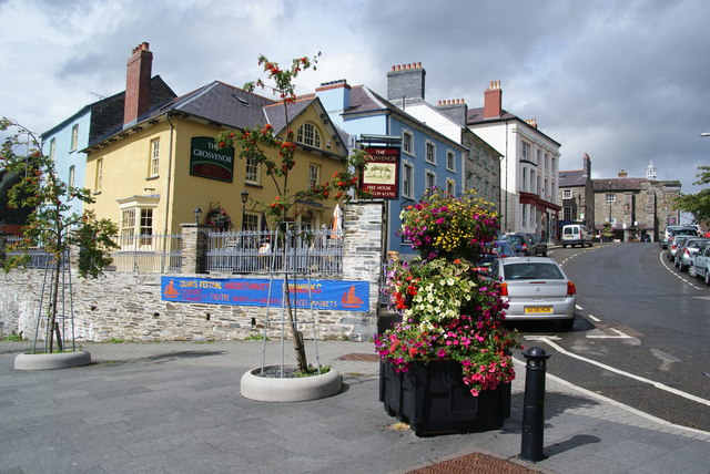 The Grosvenor, Bridge Street, Cardigan