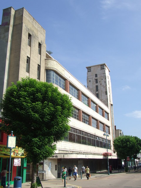 Disused department store, Woolwich