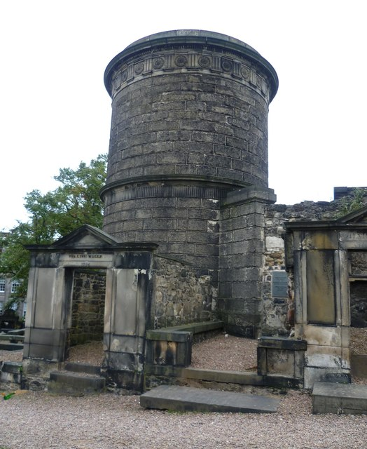 The tomb of David Hume, Old Calton
