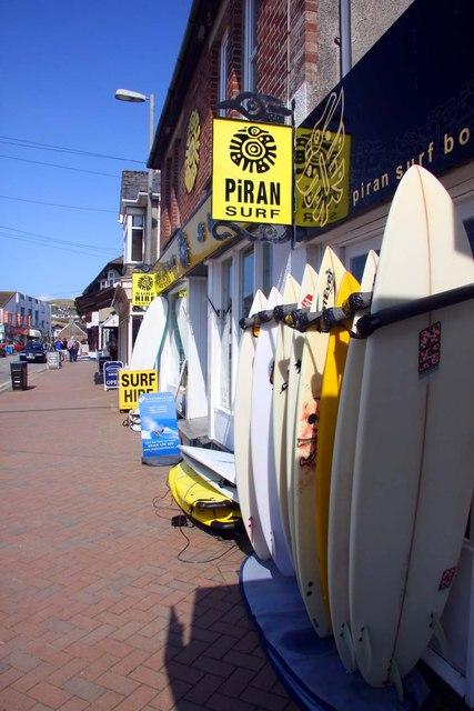 Piran Surf on St Piran's Road