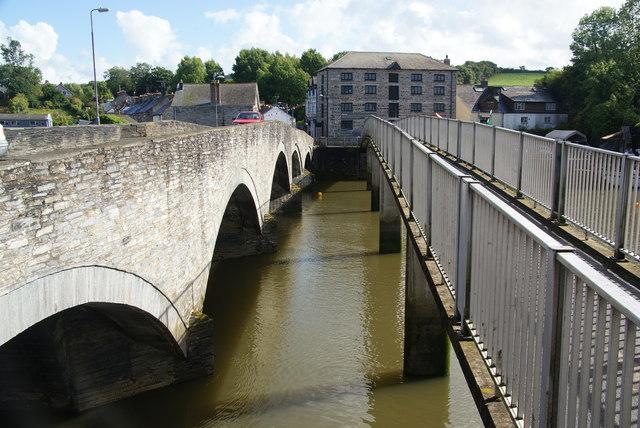 Bridges over the Teifi