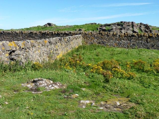 Rocks and stone walls