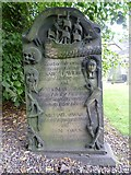 NT2674 : Captain John Gray's stone, Old Calton by kim traynor