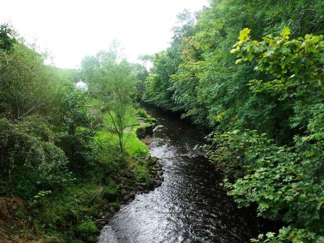Lennoxtown, Glazert Water
