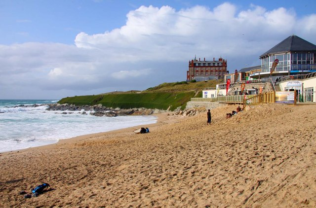 The National Surfing Centre on Fistral Beach