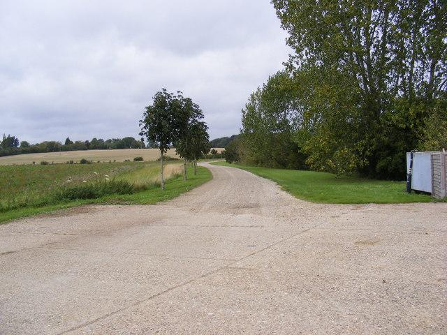 The Entrance to Park Cottages