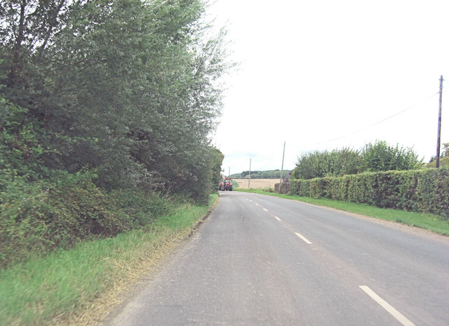 B2080 approaches Willow Farm