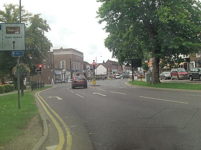A28 traffic lights