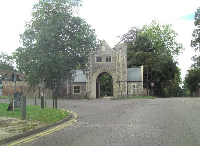 Heronden Hall Gatehouse