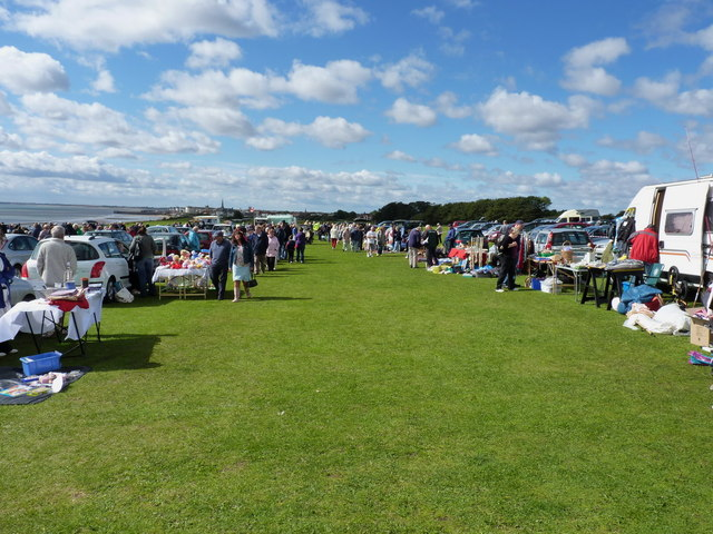 At the car boot sale
