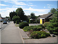 SP2481 : Open frontages to bungalows, Main Road  by Robin Stott