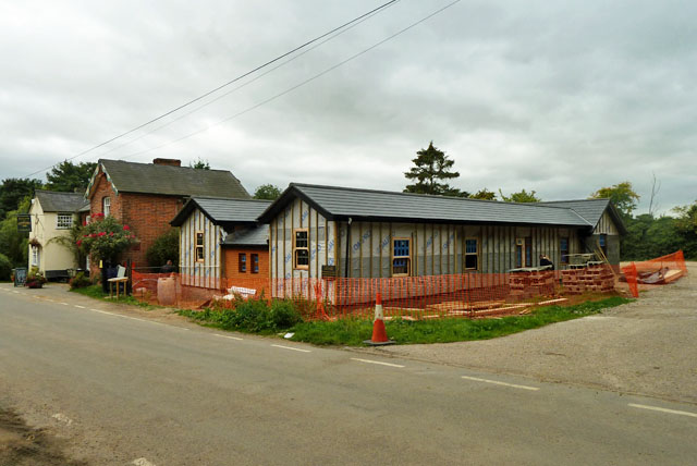 New building at the Compasses