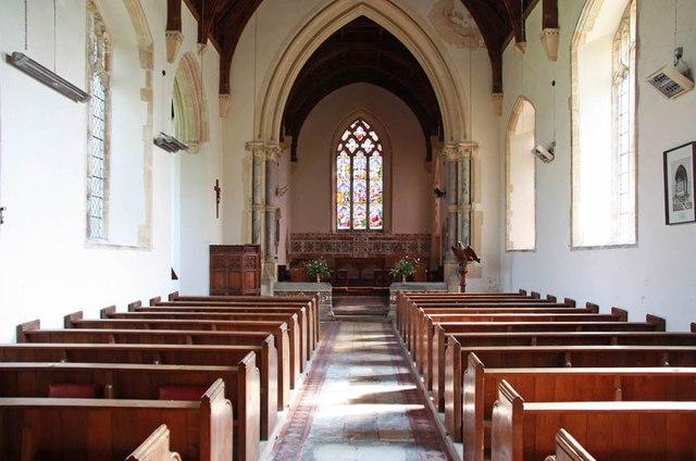 St Mary, Gunthorpe - East end