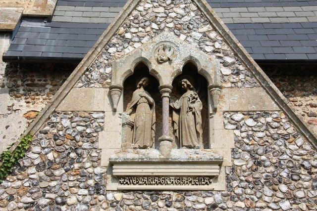St Mary, Gunthorpe - Porch detail
