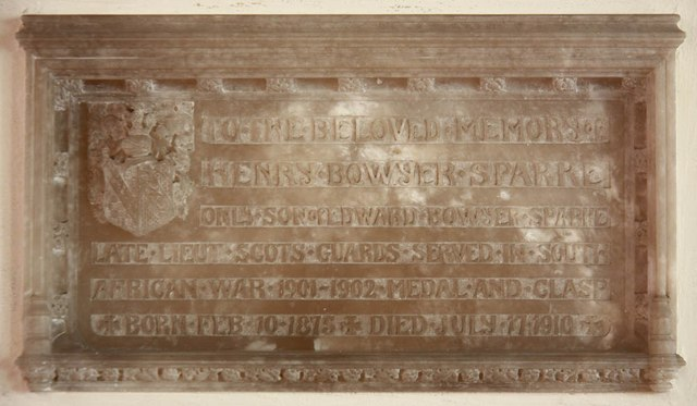 St Mary, Gunthorpe - Wall monument