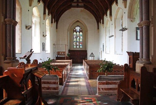 St Mary, Gunthorpe - West end