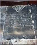 TG0135 : St Mary, Gunthorpe - Ledger slab by John Salmon