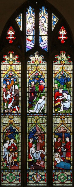 St Mary, Gunthorpe - Stained glass window